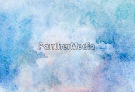 luz da aguarela textura bege azul