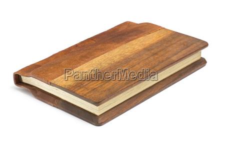 livro precioso com couro nobre e
