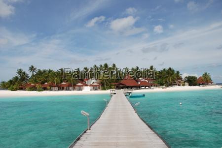 dream island in the maldives