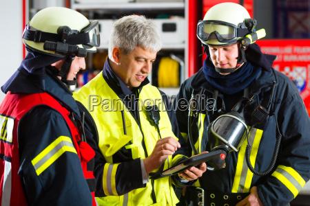 bombeiros planejamento de missao no