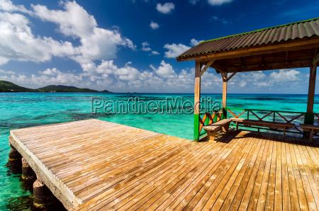 azul ceu praia beira mar da
