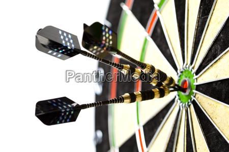 placa de dardo bullseye