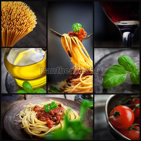 alimento cozinheiros cozinhar espaguete molho italiano