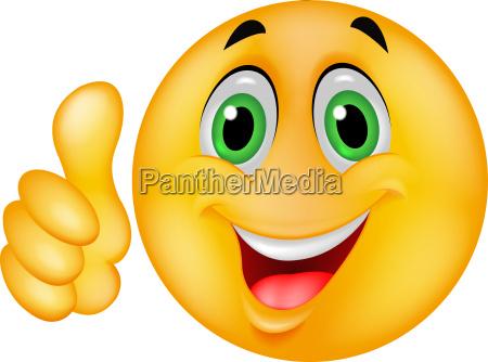 desenho de emoticon smiley com o