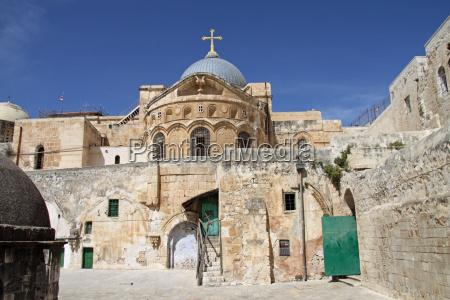 santo sepulcro em jerusalem israel