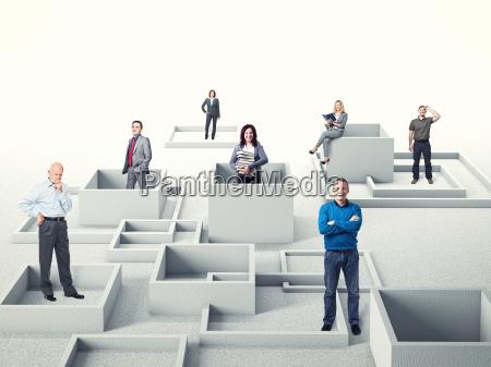 pessoas de negocio