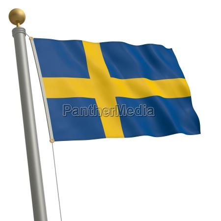 bandeira da suecia