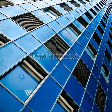 azul torre cidade janela estilo de
