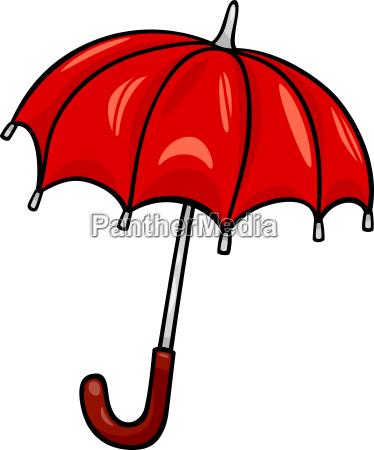 guarda chuva clip art cartoon ilustracao