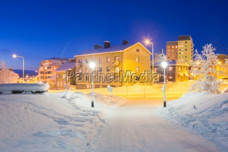 arquitectura da cidade de kiruna