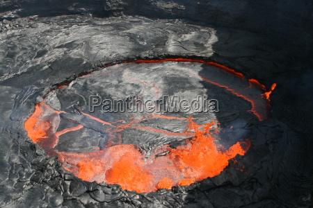 vulcao erta ale na etiopia