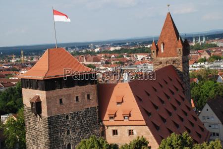 nuremberg, youth, hostel, pentágono, tower, kaiserstallung - 9931468