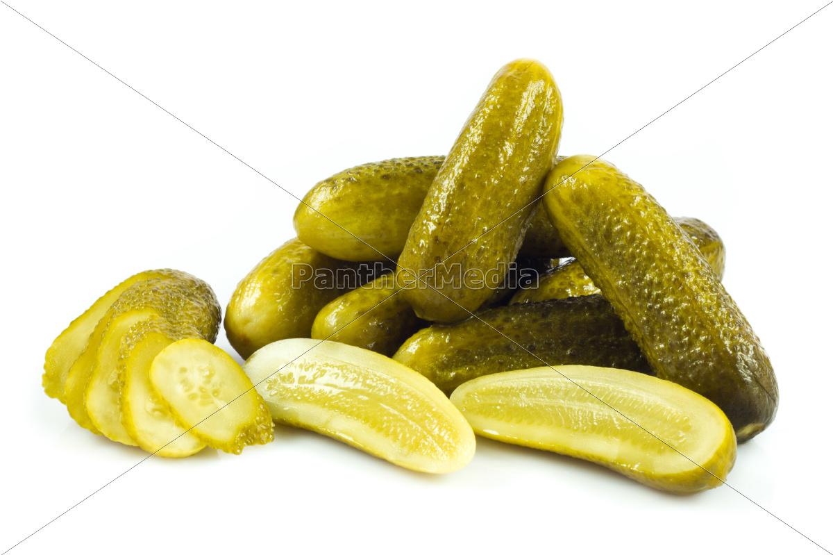 pepinos, em, conserva., gherkins, em, um - 10045276