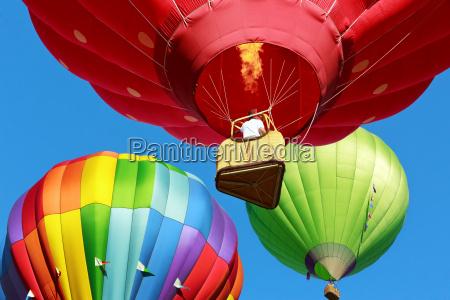 baloes de ar quente