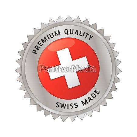 swiss feito feito na suica selo