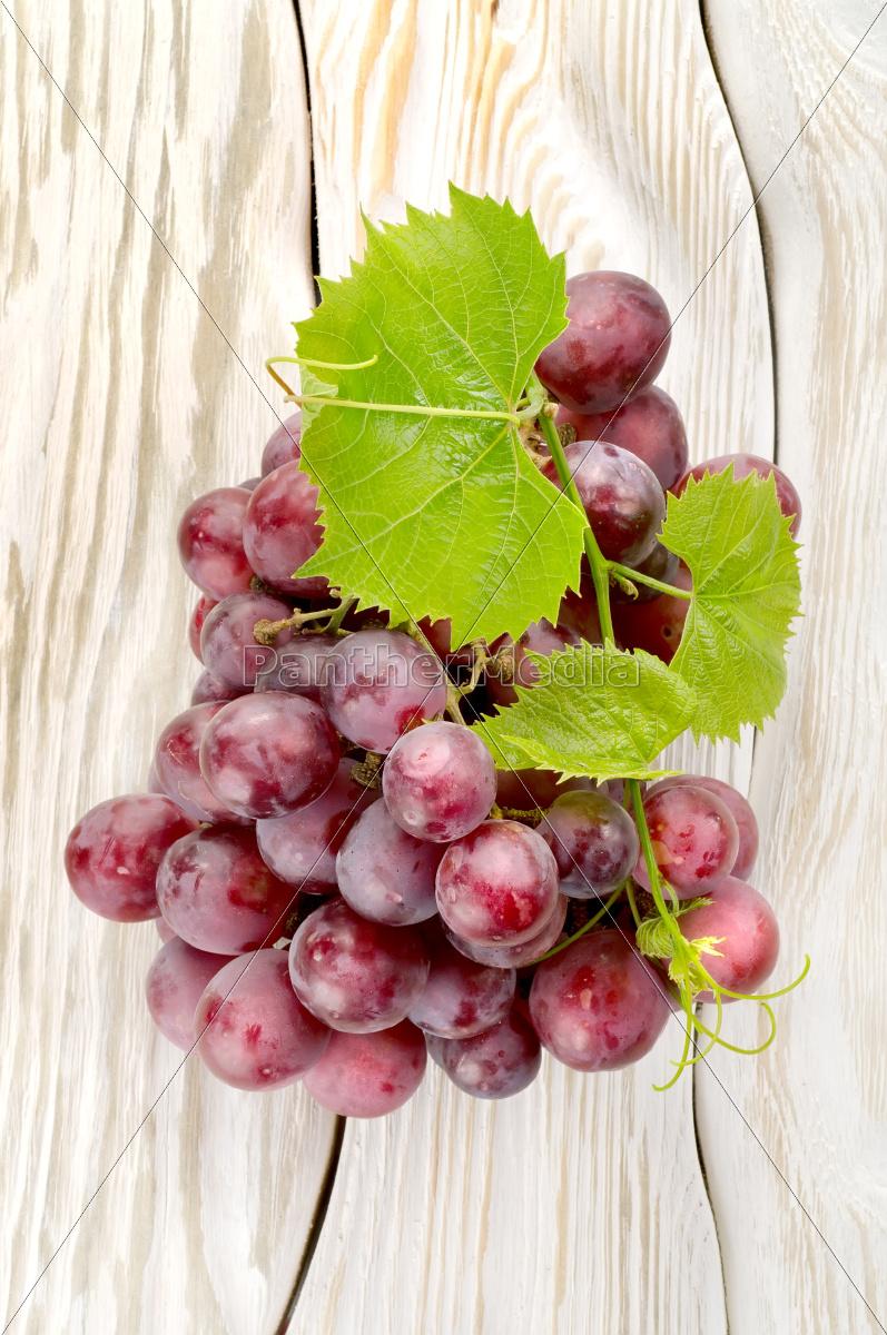 uvas, azuis, sobre, a, mesa - 10123405
