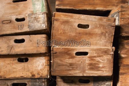 madeira antigo vintage vindimas caixa peito