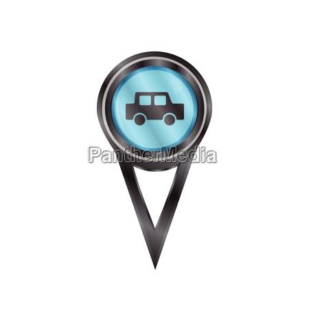 pin sign car