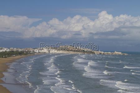ondas baia praia agua salgada mar