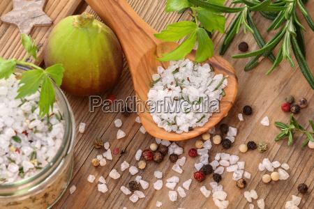sal, especiarias, sal, de, ervas, herbal - 10308935