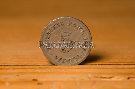 moeda pompa pfennigs tesouro pirata dinheiro