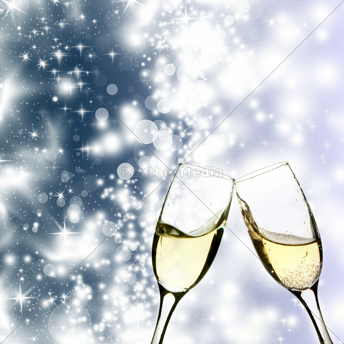 champagne, and, holiday, lights - 10468523