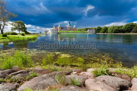 historisches schloss kalmar in schweden skandinavien