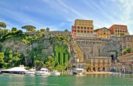 porto de sorrento italia