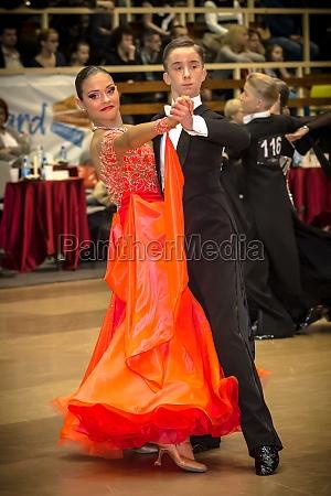 competitors, dancing, slow, waltz, on, - 10725763