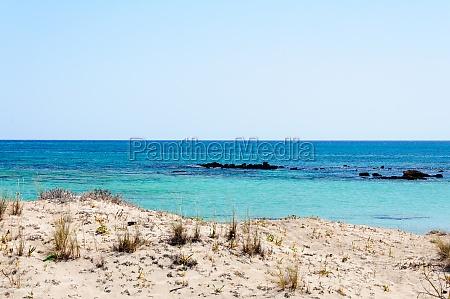 grecia praia beira mar da praia