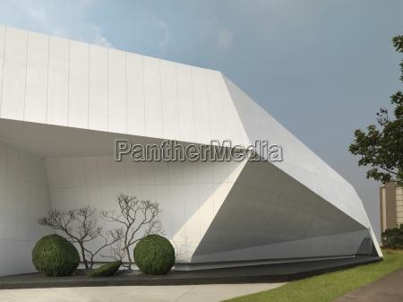 detalhe da arquitetura moderna