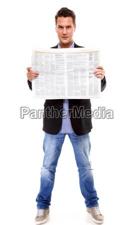 cara jornal tageblatt escritorio trabalho liberado