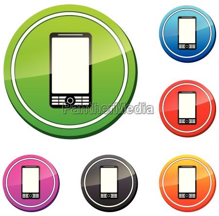 jogo do icone do mobil do
