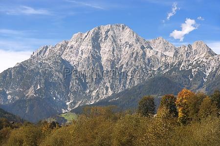 alpes austria rocha macico montanha