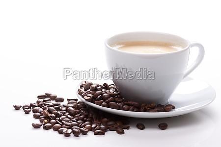 chavena de cafe e feijao