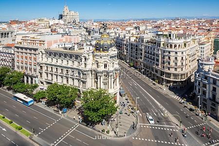 gran via de madrid espanya