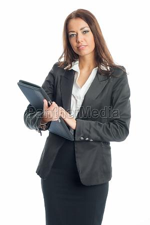 woman presentation secretary businesswoman career woman