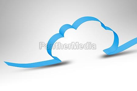 azul nuvem contar pano de fundo