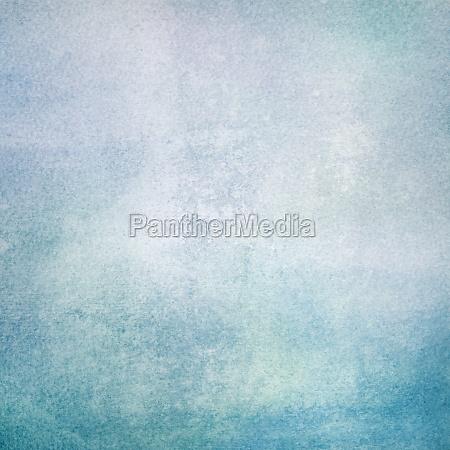 textura aquarela de tons azuis