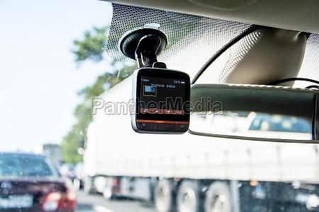 gravador de video do carro instalada