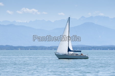 azul pacificamente carga agua doce lago
