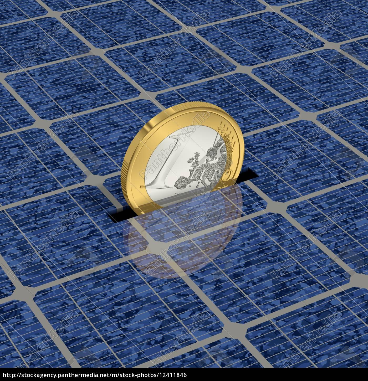 economize, dinheiro, através, da, energia, solar - 12411846