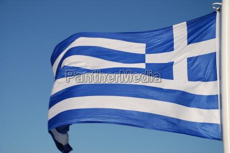hellas flag banner flag greece