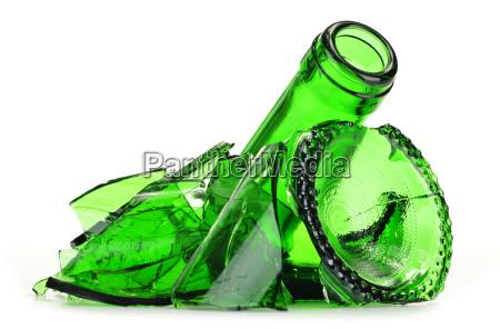 vidro copo de vidro lixo reciclagem