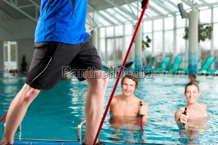 aptidao ginastica subaquatica nos termas