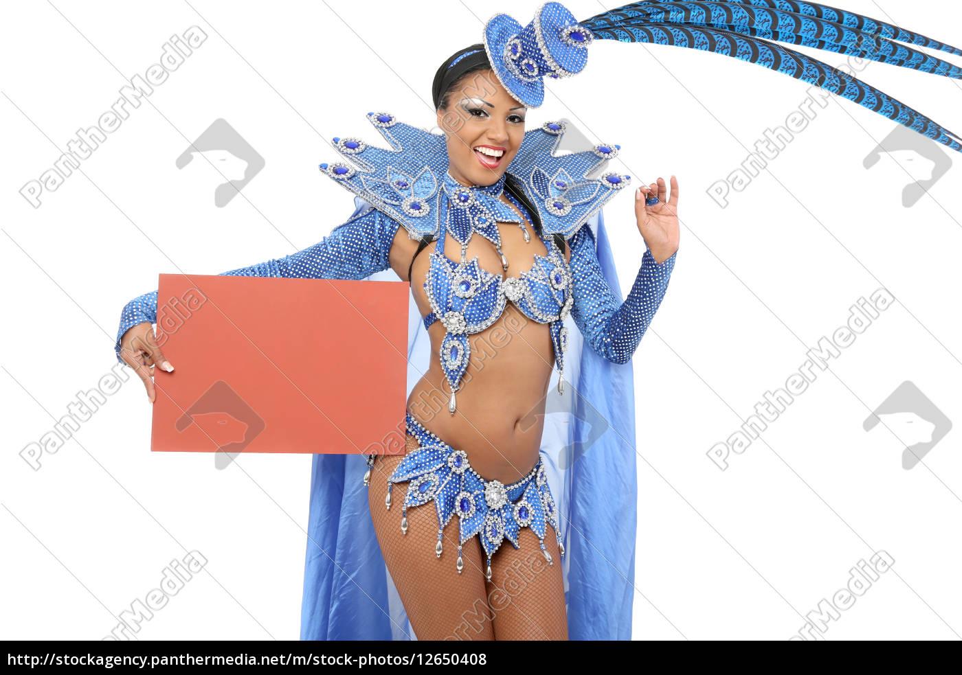 dançarino, de, samba, brasileiro - 12650408