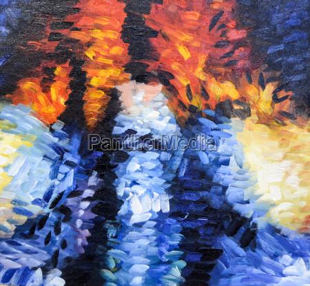estrutura pintura abstrata impressionismo