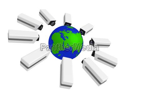 globus terra global global vigilancia cameras