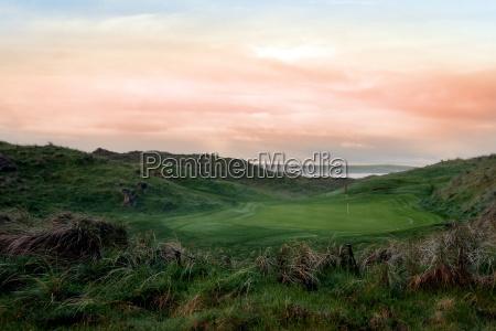 esporte esportes irlanda golfe curso gramado