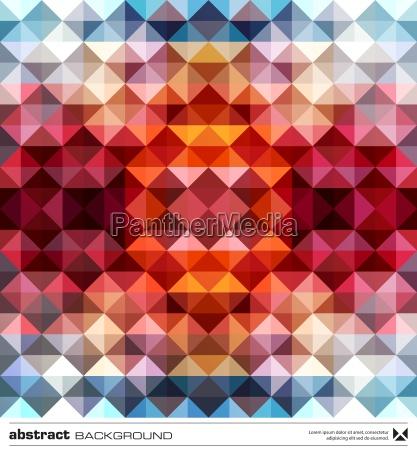 abstract coloridos triangulos de fundo vetor